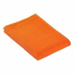 Полотенце для сауны 80x220 Vossen Rom Pique-U оранжевое