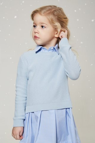 Girl Blue Jumper