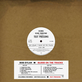 Bob Dylan / Blood On The Tracks (Original New York Test Pressing)(LP)