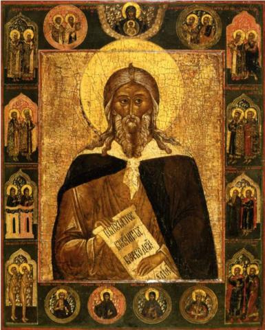 Икона святой Илья Пророк на дереве на левкасе мастерская Иконный Дом