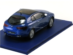 Alfa Romeo Brera 2005 bluemetallic Limited Edition 1998 pcs. M4 1:43
