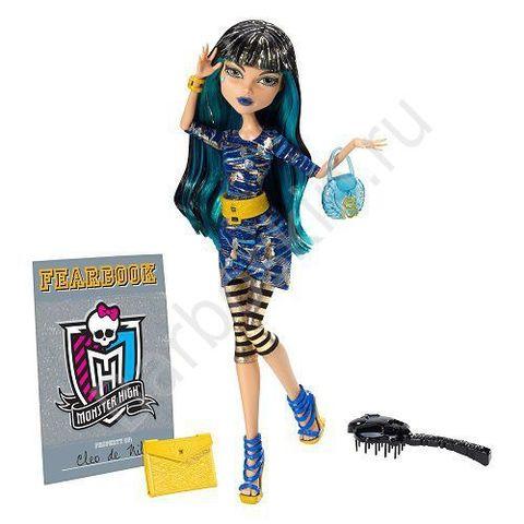 Кукла Monster High Клео де Нил (Cleo de Nile) - День Фотографии (Picture Day), Mattel