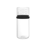 Стеклянная банка с мерным стаканом 1 л, артикул 290282, производитель - Brabantia