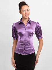 4117-5 блузка женская, фиолетовая