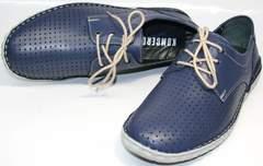 Мокасины мужские на шнурках Komcero 9Y8944-106.