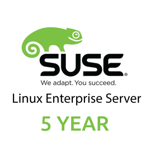 SUSE Linux Enterprise Server, x86 & x86-64, 1-2 Sockets with Unlimited Virtual Machines, Standard Subscription, 5 Year (Право использования программного обеспечения)