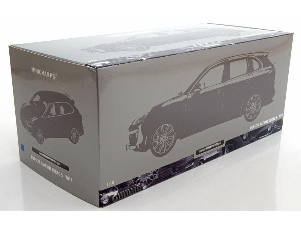 Коллекционная модель Porsche Cayenne Turbo S 2014