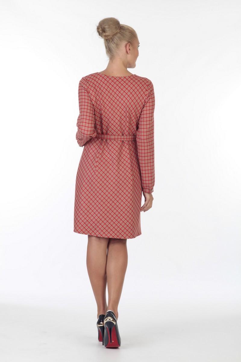 Платье 05700 красный