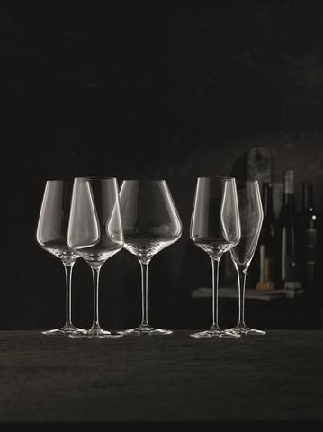 Набор из 4-х бокалов для шампанского Champagne Glass 280 мл, артикул 98075. Серия ViNova