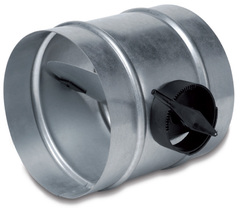 Дроссель-клапан SKR D315 с ручным управлением