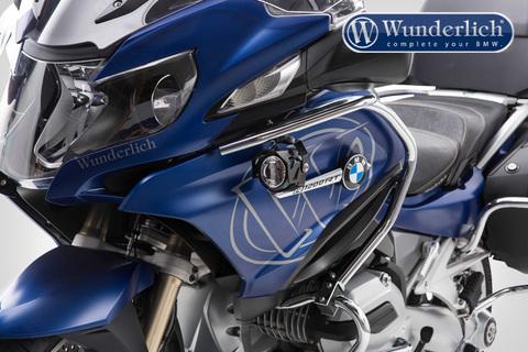 Комплект доп.света ATON на дуги бака BMW R1200RT LC - серебро