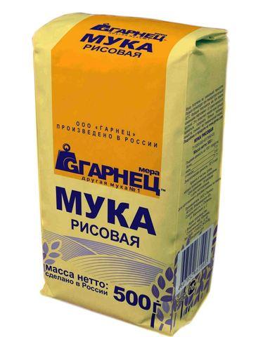 """Мука рисовая """"Гарнец"""" 500г"""
