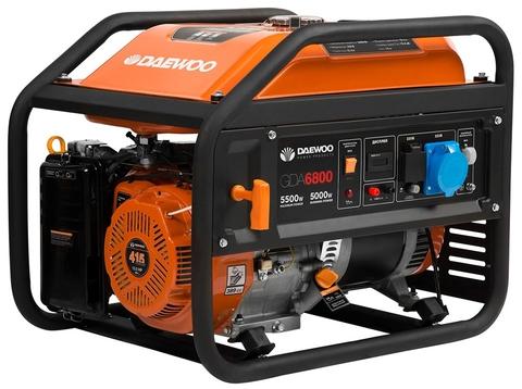Генератор бензиновый Daewoo GDA 6800  Exspert Line