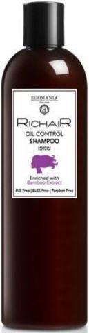 Шампунь для контроля жирности кожи головы с экстрактом бамбука, Richair Egomania,400 мл.