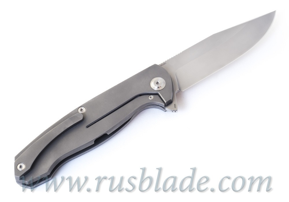 Cheburkov Wolf 2019 M390 Titanium and CF Folding Knife