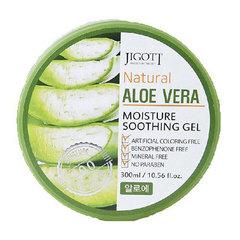 Jigott Natural Aloe Vera Moisture Soothing Gel - Гель для лица и тела успокаивающий с алоэ