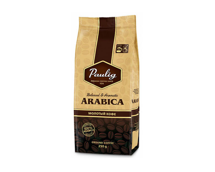 Кофе молотый Paulig Arabica, 250 г (Паулиг)