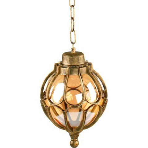 Светильник садово-парковый, 60W 230V E27 черное золото, IP44, PL3805 (Feron)
