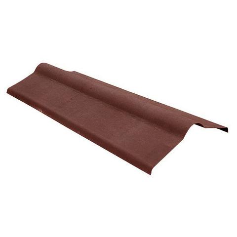Конек ондулин коричневый 1000 мм