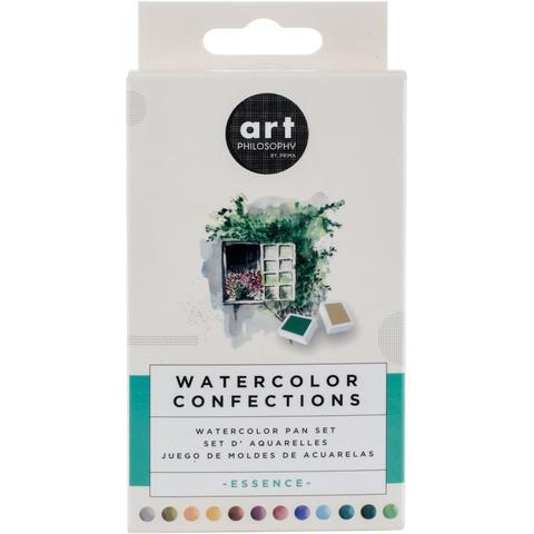 Акварельные краски Prima Marketing Watercolor Confections Watercolor Pans 12шт. - Complexion