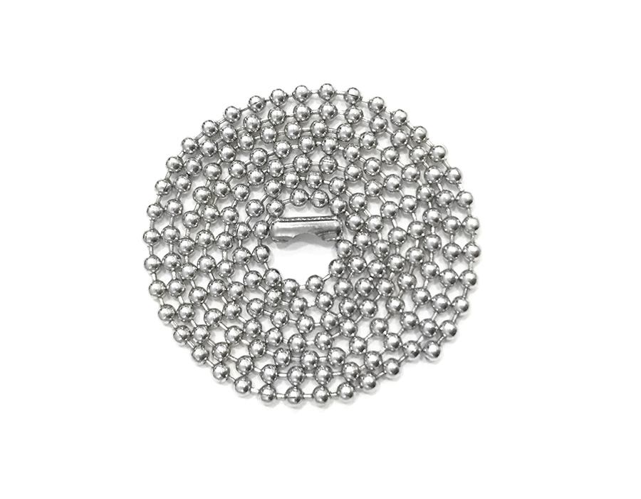 цепочка декоративная серебро