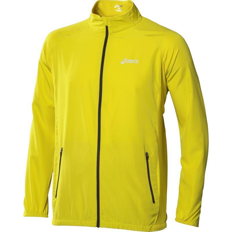Ветровка Asics Woven Jacket yellow мужская
