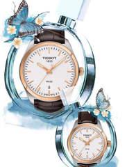 Парные часы TISSOT PR 100: T101.410.26.031.00 и T101.210.26.036.00