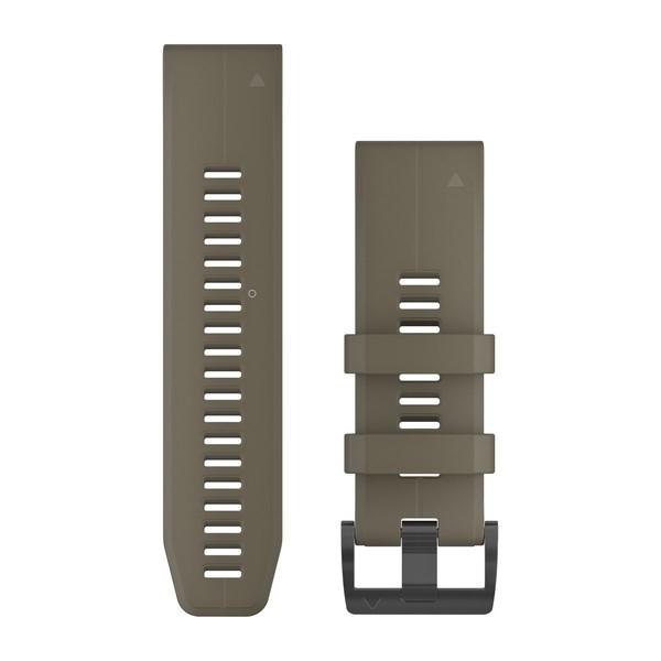 Сменный ремешок Garmin QuickFit 26 мм светло-коричневый