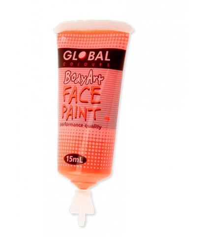 Аквагрим Global жидкий 15 мл неоновый оранжевый