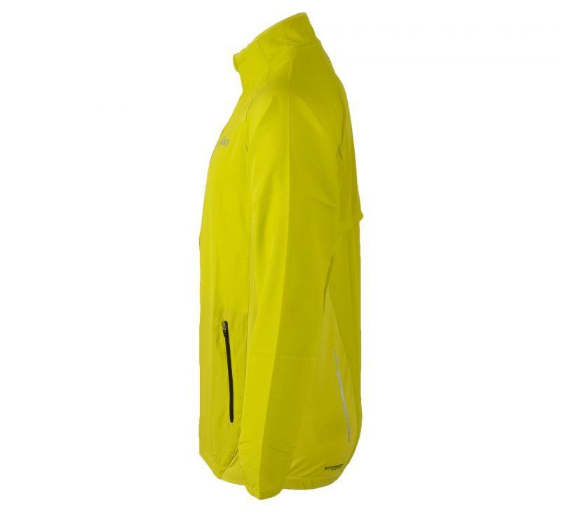 Ветровка Asics Woven Jacket yellow мужская side