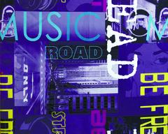 Велюр Music violet (Мьюзик виолет)