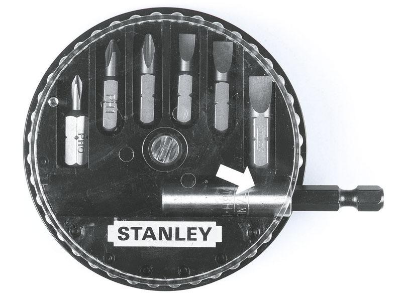 Набор вставок шестигранных  Ph  SL с держателем Stanley 1-68-735