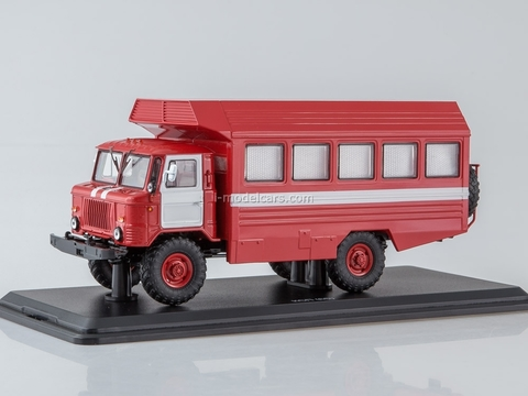 GAZ-66 KSP-2001 fire engine 1:43 Start Scale Models (SSM)