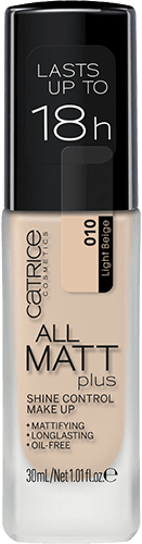 Catrice All Matt Plus Shine Control Make Up тональная основа