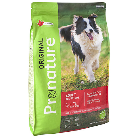 Pronature Original Dog Lamb Peas&Barley