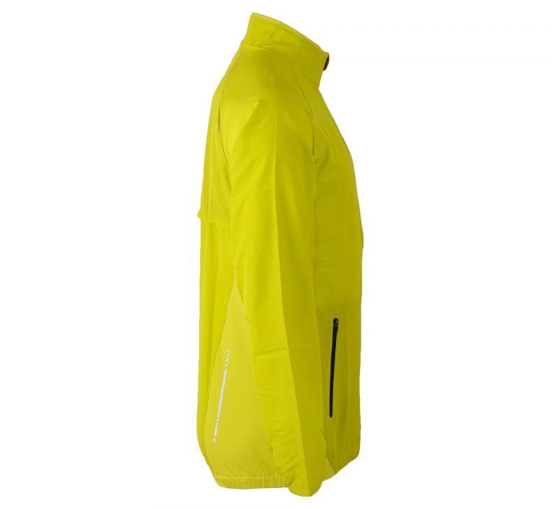 Ветровка Asics Woven Jacket yellow мужская rside