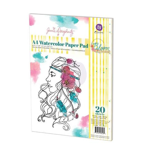 Альбом для акварели Watercolour Bloom 21х30см  -20л.