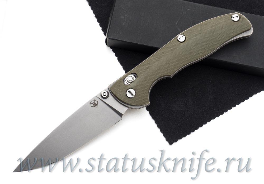 Нож Широгоров Табарган 100NS G10 олива S35VN