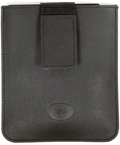 Маникюрный набор Dovo, 3 предмета, цвет черный, кожаный футляр