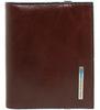 Чехол для кредитных карт Piquadro Blue Square коричневый телячья кожа (PP1395B2/MO) цена и фото