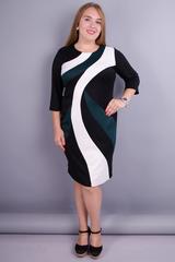 Клавдия. Изысканное платье для женщин плюс сайз. Бутылка.