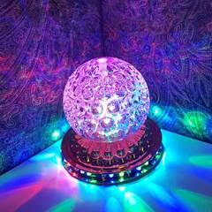 Вращающий светодиотный светильник с подсветкой