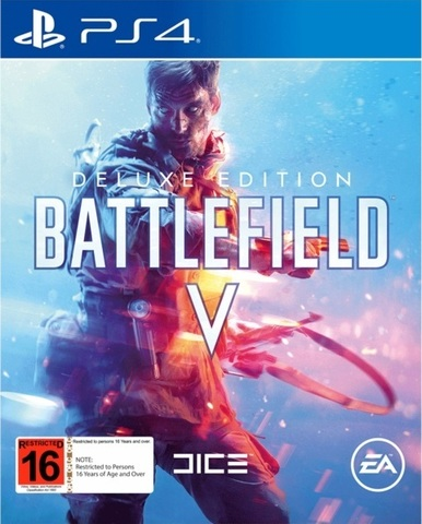 PS4 Battlefield V - Deluxe Edition (русская версия)