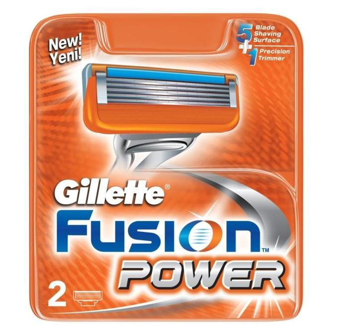 Кассеты Gillette Fusion Power 2 шт