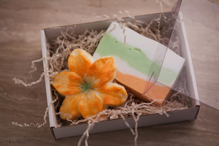 Мыло-цветок Лилия. Пластиковая форма