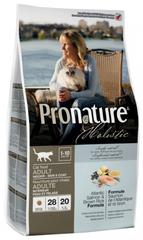 Корм для взрослых кошек, Pronature Holistic, для кожи и шерсти, с лососем и рисом
