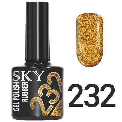 Sky Гель-лак трёхфазный тон №232 10мл