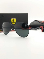 Ray Ban for Scuderia Ferrari Limited Edition RB3025 Black/Red