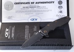 Нож Zero Tolerance 0392BWBRZ Rick Hinderer Limited Edition