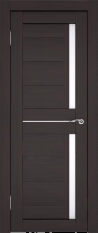 Дверь София (2С1М) (S-7) (венге, остекленная экошпон), фабрика Zadoor